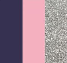 Our Wedding Colors: Amethyst, Twirl & Silver (Navy, Light Pink, Silver)... I think I am in love now!