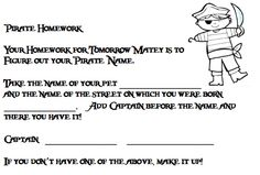 The Very Busy Kindergarten: Pirate Homework