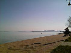 Csopak: Tényleg ő a legszebb strand :-) Celestial, Sunset, Beach, Water, Outdoor, Gripe Water, Outdoors, The Beach, Beaches