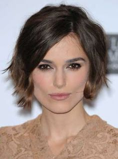 Keira Knightly asymmetrical bob, thinking of getting this hairstyle next