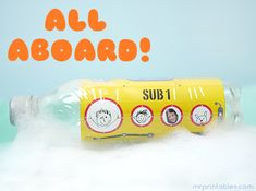 homemade toys bottle submarine