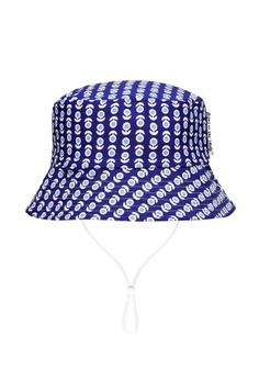Babes In The Shade Blue Floral Hat