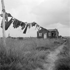 Dolf Kruger, Farmworkers House, Drenthe, Holland 1950.