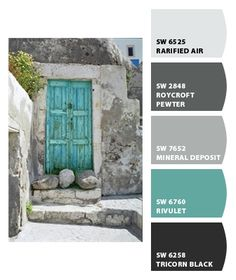 Ideas exterior paint schemes sherwin williams chips for 2019 Exterior Paint Colors, Exterior House Colors, Paint Colors For Home, Paint Colours, Paint Schemes, Colour Schemes, Color Combos, Paint Combinations, Kitchen Colors