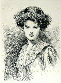 I rock the Gibson Girl look.