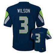 Boys 8-20 Seattle Seahawks Russell Wilson NFL Replica Jersey