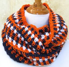 Hey, I found this really awesome Etsy listing at https://www.etsy.com/listing/244702480/denver-broncos-scarfuniveristy-of