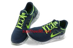xGtmL7 Light Midnight Pure Platinum Electric Green Nike Free Run 3 Men's Running Shoes