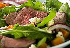 Warm Australian Lamb Salad with Sweet Potato | #aussielamb #lambleg #salad www.australian-lamb.com