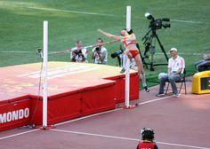 Ruth Beitia ha sido la gran protagonista española de la mañana al meterse en la final de altura con 1,92 metros.