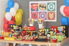festa frozen e super heroi - Pesquisa do Google