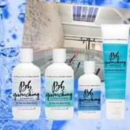 Bumble and bumble's quenching line is great for treating damage without stripping color, wilting perms or reverting chemically straightened hair!