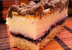 Smetanový zákusek, který nejen dobře chutná, ale také dobře vypadá. Skvělá kombinace kyselého džemu a zakysané smetany. Tiramisu, Cheesecake, Ethnic Recipes, Desserts, Food, Tailgate Desserts, Deserts, Cheesecakes, Essen