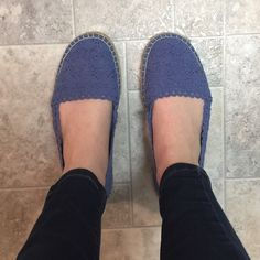 Lavender Lace Flats Lavender lace flats. Super comfy. Size 9. Worn only a couple times Merona Shoes Flats & Loafers