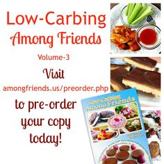 I'm in Low-Carbing Among Friends volume 3! #LCAF3 #lowcarb #glutenfree