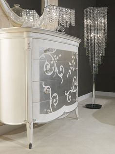 Art Decò collection – Art Decò style chest of drawers – Vimercati luxury classic furniture