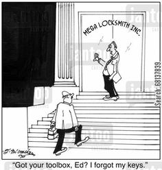 cartoon absent mindedness 2