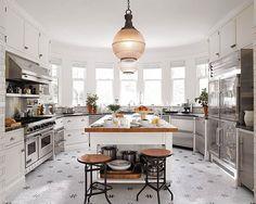 Hello, dream kitchen. (: @lucasallenphoto | Design: Joan Schindler) #HBloveskitchens #instahome