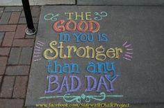 Chalk Ideas, Sidewalk Chalk Art, Insta Photo Ideas, You Are Strong, Chalkboard Art, Chalk Board, Quotes For Kids, Art Therapy, Art Boards