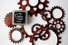 Riikka Kovasin - Paperiliitin: Rusty gears tutorial