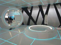 TRON designs CORIAN Exhibition