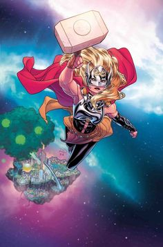 Russell Dauterman is an illustrator and character designer, best known as the artist of the Marvel comic book series, THE MIGHTY THOR. Odin Marvel, Marvel Avengers, Marvel Heroes, Dc Comics, Comics Anime, Female Comic Characters, Marvel Comic Character, Univers Marvel, Marvel Universe