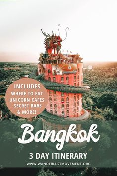 Planning a trip to Bangkok, Thailand? It's one of the best city breaks in Southeast Asia for history buffs and foodies! Here's my Bangkok itinerary that includes some of the best things to do in Bangkok and a few hidden surprises! See gorgeous temple 10 Days In Thailand, Visit Thailand, Bangkok Thailand, Bangkok Itinerary, Bangkok Travel, Asia Travel, Time Travel, Travel Bag, Mexico Travel