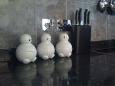 Tom, Dick and Harry designer kitchen storage jars