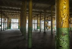 Factory WIMA-hall spinning-Lodz-Poland