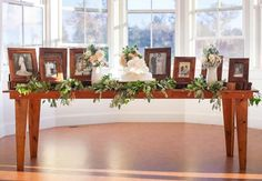 I love the idea of a table with photos of family who are no longer with us. Maybe with a little blurb about each individual.