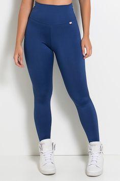 a98f6e0c7 Legging Lisa Suplex (azul marinho, celeste, royal, rosa pink, rosa fluor