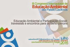 Rede Lusófona de Educação Ambiental - REDELUSO: 3º congresso