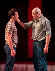Groff and Alfred Molina in 'Red' at Mark Taper Forum in Los Angeles. Saw this last weekend and loved it. Alfred Molina was breathtaking. Theatre Group, Theatre Geek, Theater, Michael Grandage, Contemporary Plays, Tony Winners, Alfred Molina, Dream City, Monologues