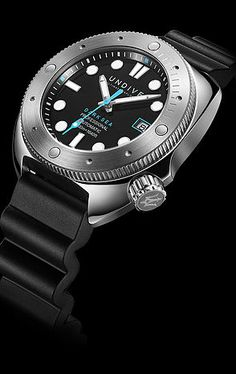 Undive Watches - Carrying on and defining your exploration   DARK SEA 500m