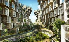Floating Eco Villages - 'Coral Reef' by Vincent Callebaut Is A Sustainable Haitian Parad (GALLERY)