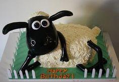 sheep cake. too cute