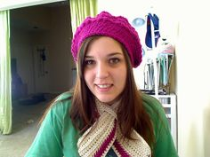 Keyhole scarf