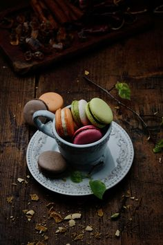 Macarons in a cup by George Matasov on 500px