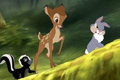 bambi   Bambi, Fleur et Panpan !!!