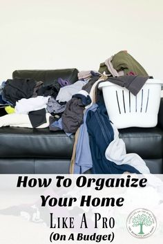 How to organize your home like a pro, on a tight budget! Great tips and tricks to help you stay organized! The Homesteading Hippy via @homesteadhippy