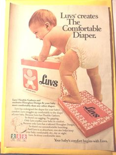 My baby was about a year and a half. Luvs Diapers, Cloth Diapers, Fisher Price Toys, Vintage Fisher Price, Couches, Pvc Hose, Plastic Pants, Disposable Diapers, Baby Comforter