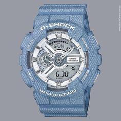 #GSHOCK #Denim Series Watch in Baby Blue
