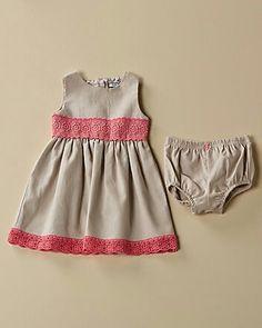 Hartstrings Beige Dress with bloomers. $29.90 www.ruelala.com