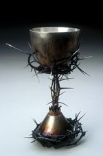 """""""Can You Drink The Cup I Am About to Drink?"""" by Father John Kiefer. Imagine projecting this image on Good Friday."""