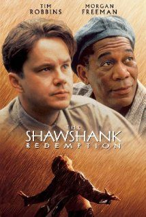 The Shawshank Redemption (1994) - Two imprisoned men bond over a number of years, finding solace and eventual redemption through acts of common decency.