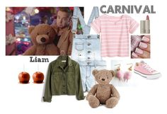 """Carnival with Liam"" by yam-chip ❤ liked on Polyvore featuring Payne, Converse, Madewell, Ilia and Jellycat"