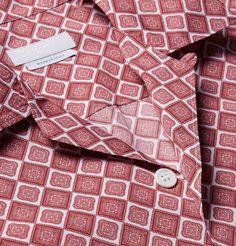 Prada - Camp-Collar Printed Cotton Shirt