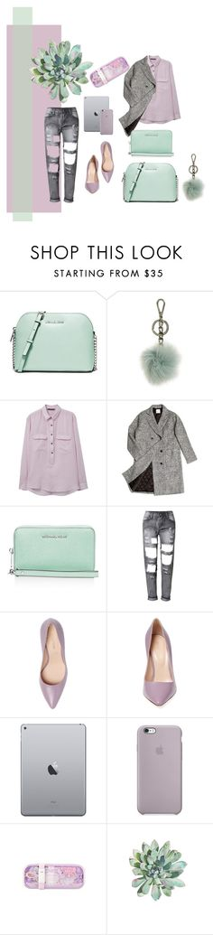 """Casual look"" by shudenbaun on Polyvore featuring мода, MICHAEL Michael Kors, MANGO, ssongbyssong и Sergio Rossi"
