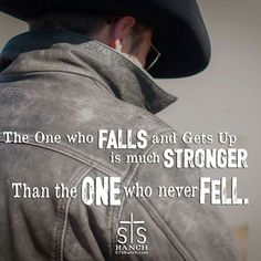 it's getting up that makes us stronger. Western Quotes, Rodeo Quotes, Cowboy Quotes, Equestrian Quotes, Racing Quotes, Country Girl Quotes, Circus Quotes, Girl Sayings, Country Girls