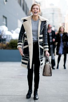Do you know who makes this shearling coat?